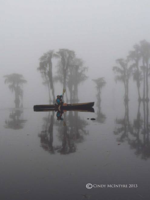 Canoeing-in-fog,-Banks-Lake-NWR,-GA-(17)-copy