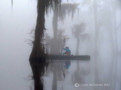 Canoeing-in-fog,-Banks-Lake-NWR,-GA-(6)-copy