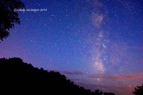 Milky Way, 4 a.m.