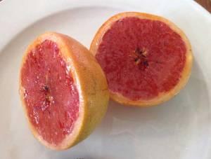 Carmelized grapefruit