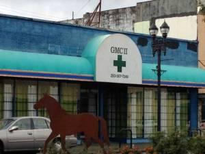 Pot shop (er, marijuana dispensary) in Tacoma