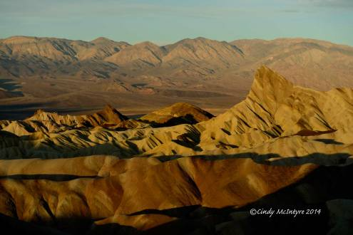 Zabriski Point, Death Valley National Park, at dawn