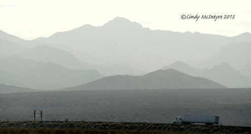 View from Newberry Springs toward the west