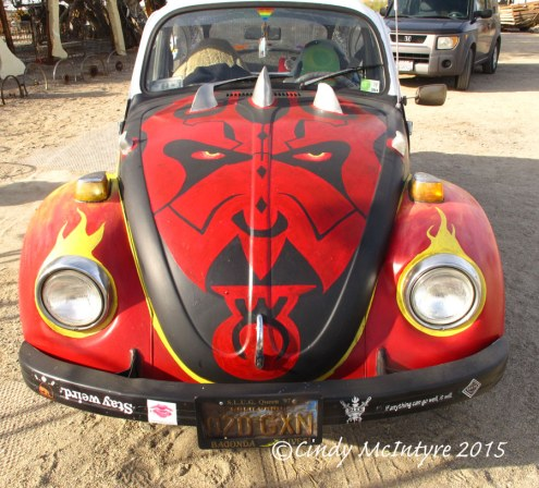 Devil Art Car