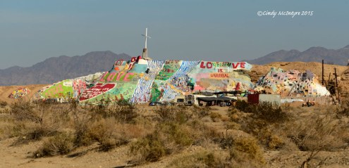Salvation Mountain overview