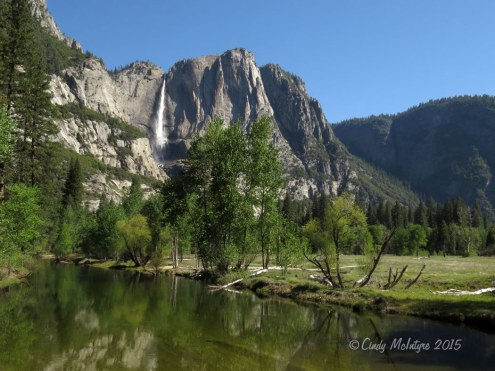 Upper Yosemite Falls, early May