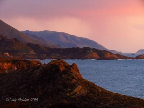 Point Lobos, California sunet