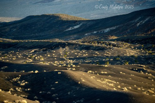 Ubehebe Crater at dawn