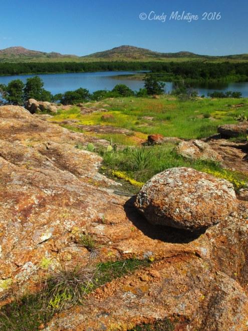 Lake Quanah Parker, Wichita Mountains Wildlife Refuge