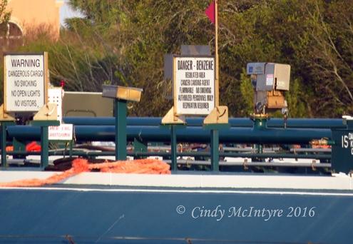 Benzene barge, Port Arthur, Texas