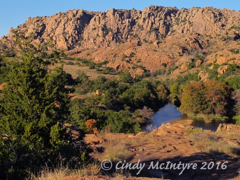 Wichita Mts Wildlife Refuge, mid-Oct, Okla.