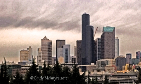 Seattle from I-5