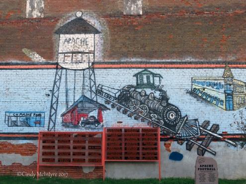 Apache, Oklahoma murals
